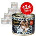 O'Canis for Cats gazdaságos csomag 12 x 200 g - Liba, csirke & bogáncsolaj