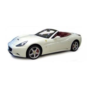 BBurago : Ferrari California cabrio fém autómodell 1/18 fehér