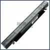 X452CP 2200 mAh 4 cella fekete notebook/laptop akku/akkumulátor utángyártott