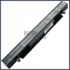 X452C 2200 mAh 4 cella fekete notebook/laptop akku/akkumulátor utángyártott