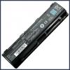 Toshiba PABAS263 6600 mAh 9 cella fekete notebook/laptop akku/akkumulátor utángyártott