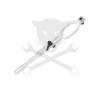 Hubi Tools HUBI Univerzális szerszám bordásszíj szereléshez (AB70906) autójavító eszköz