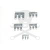 PTC Kalapácsnyél ék készlet 5 db-os alu 3 karmos lapos (2007)