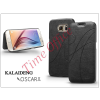Kalaideng Samsung SM-G920 Galaxy S6 flipes tok - Kalaideng Oscar 2 Series - black