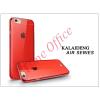 Kalaideng Apple iPhone 6 szilikon hátlap üveg képernyővédó fóliával - Kalaideng Air Series - red