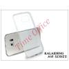 Kalaideng Samsung SM-G920 Galaxy S6 szilikon hátlap üveg képernyővédó fóliával - Kalaideng Air Series - transparent