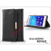 Kalaideng Sony Xperia Z3+/Z4 (E6553) flipes tok kártyatartóval - Kalaideng Royale II Series - black