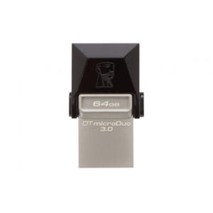 Kingston Pendrive 64GB, DT MicroDuo, USB 3.0 micro USB OTG