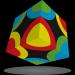 V-Cube V-Cube 3x3TM  versenykocka, Körök