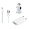 iPhone USB + szivargyújtós adapter, kábellel