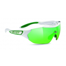 Rudy Project Hypermask Performance White Green - Multilaser Green lencsével