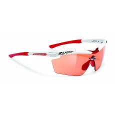 Rudy Project Genetyk Racing White - ImpactX™ Photochromic Red lencsével
