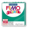 Gyurma, 42 g, égethető, FIMO Kids, zöld