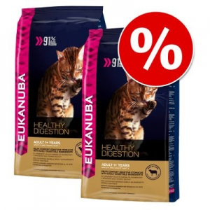 Eukanuba gazdaságos csomag: 2 x 2-3-4 kg - Top Condition 7+ Mature / Senior (4 x 2 kg)