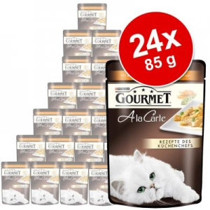 Gourmet A la Carte 24 x 85 g - Pulyka & zöldség
