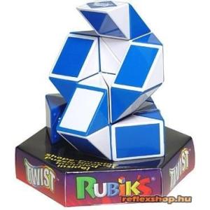 Rubik Twist logikai játék, kék-fehér