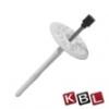 KBL-Hungária Fémszeges tárcsás dübel 10x220 mm