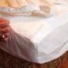 Körgumis matracvédő frottírlepedő 140x200cm, Sabata antiallergén oldalgumis lepedő