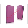 Haffner Slim Flexi Flip bőrtok - Samsung SM-A500F Galaxy A5 - lila