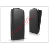 Haffner Slim Flexi Flip bőrtok - Microsoft Lumia 430 - fekete