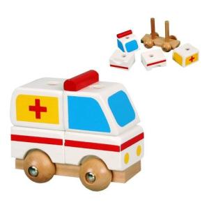Szétszedhető mentőautó (kicsi)