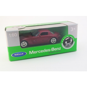 Welly NEX Modells 1:60 Mercedes Benz bordó 288/36