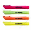 KORES Szövegkiemelő készlet, 0,5-5 mm, KORES High Liner Plus, 4 különböző szín (IK36040)