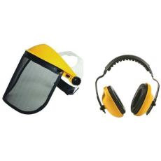 MV arcvédő rostély 190x 405mm +homlokpánt+fülvédő
