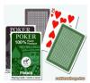 Piatnik plasztik póker kártya lap (barna/zöld) kártyajáték