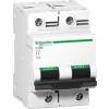 Schneider Electric Kismegszakító  Acti9  C120H 2P 100 A 15 kA C A9N18458  - Schneider Electric