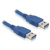 DELOCK Cable USB 3.0-A male / male 2m (82535)