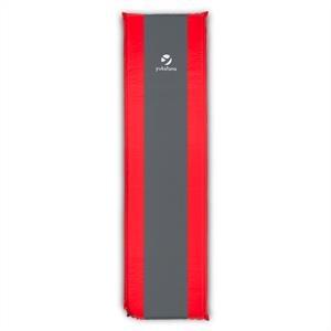 Yukatana Gooddream 10 Isomatte felfújható matrac, 10 cm vastag, önfelfújó, piros-szürke