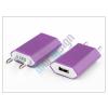 Univerzális Univerzális USB hálózati töltő adapter - 5V/1A - lila