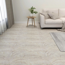 55 db bézs öntapadó PVC padlólap 5,11 m² építőanyag