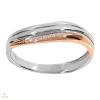 Fehér arany női gyűrű - 536473