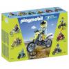 Playmobil Sárga cross motor - 5525