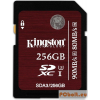 Kingston 256GB SDXC Class 3 UHS-I SC3