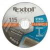 Extol Craft vágókorong fémhez 125×1,0×22,2 mm (106902)