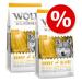 Wolf of Wilderness gazdaságos csomag 2 x 12 kg - Wild Hills - kacsa