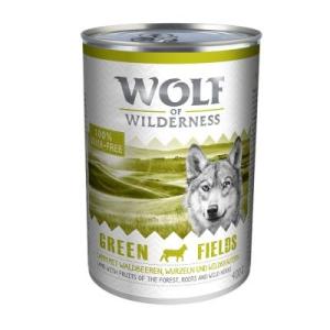 Wolf of Wilderness 6 x 400 g - Green Fields - bárány