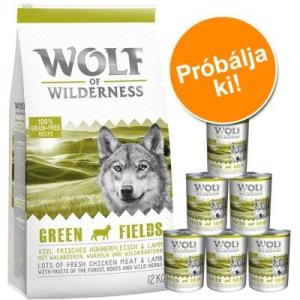 Wolf of Wilderness próbacsomag: száraz- & nedveseledel - I. variáns