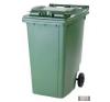 Külső hulladéktároló, szemetes kuka, több színben, 360 literes, műanyag szemetes