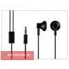 Nokia 5310/N76/N82/N95 gyári sztereó fülhallgató - 3,5 mm jack - WH-109/WH-108 black (csomagolás nélküli)