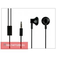 Nokia 5310/N76/N82/N95 gyári sztereó fülhallgató - 3,5 mm jack - WH-109/WH-108 black (csomagolás nélküli) headset