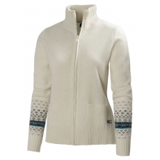 Helly Hansen W MOUNTAIN KNIT JACKET D (51660L_992-Eggshell) Női pulóver