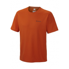 Columbia Zero Rules Short Sleeve Shirt D (AM6084k_866-Backcountry Orng) Férfi t-shirt
