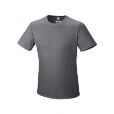 Columbia Zero Rules Short Sleeve Shirt Sport póló,aláöltöző D (AM6084m_053-Graphite)