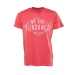 Fundango V-neck T Logo 4 D (1TM10204_282-redorange heather) Férfi t-shirt