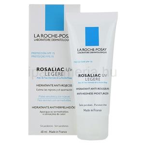 La Roche-Posay Rosaliac UV Legere nyugtató krém érzékeny bőrre bőrpírre hajlamossággal SPF15