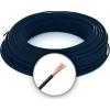 Cable MKH 6 (H07V-K) Sodrott erezetű Réz Vezeték - Fekete